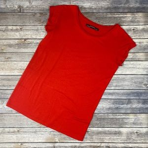🔥All Saints Women Tee Size XS Red